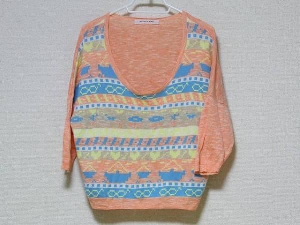 メゾンドプラージュ 七分袖セーター サイズF レディース ドルマンスリーブ