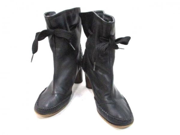 ジョルジーナグッドマン ショートブーツ 黒