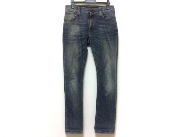 NudieJeans(ヌーディージーンズ) ジーンズ サイズW29L32 メンズ ブルー ダメージ加工