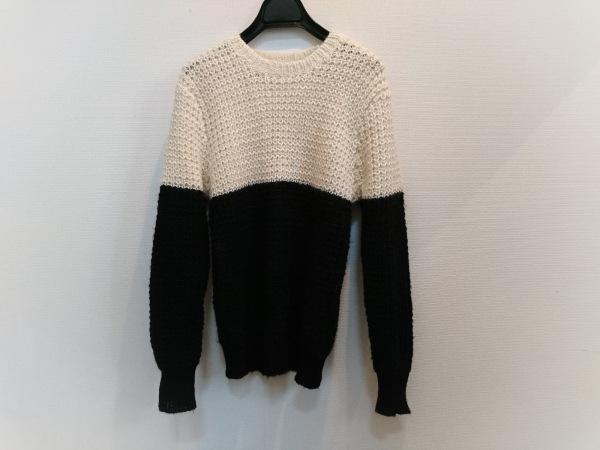 センスオブプレイス 長袖セーター サイズFree F レディース美品  黒×アイボリー