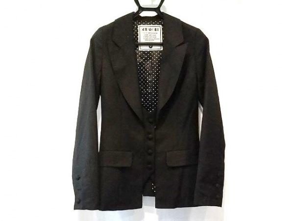 スパイラルガール ジャケット サイズS 黒