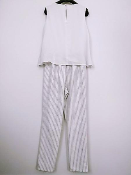セシルマクビー オールインワン サイズM レディース美品  白×グレー 3