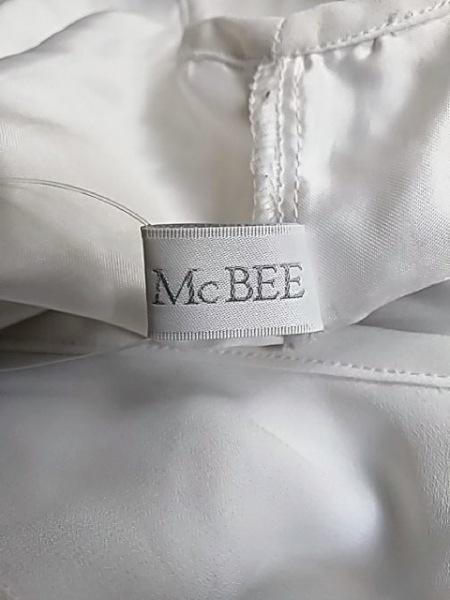 セシルマクビー オールインワン サイズM レディース美品  白×グレー 5