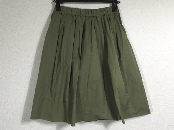 【中古】 バビロン BABYLONE スカート サイズ38 M レディース カーキ