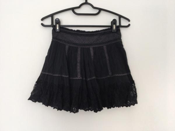 【中古】 ココディール COCO DEAL スカート レディース 黒