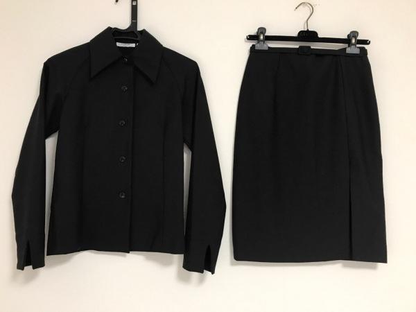 ティ ヤマイ パリ スカートスーツ美品  黒