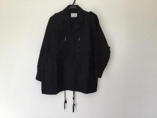 Broderie&Co(ブロードゥリーアンドコー) コート サイズ38 M レディース 黒 春・秋物