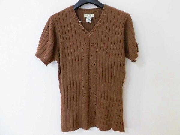 ジー・エイチ・バス 半袖セーター サイズM