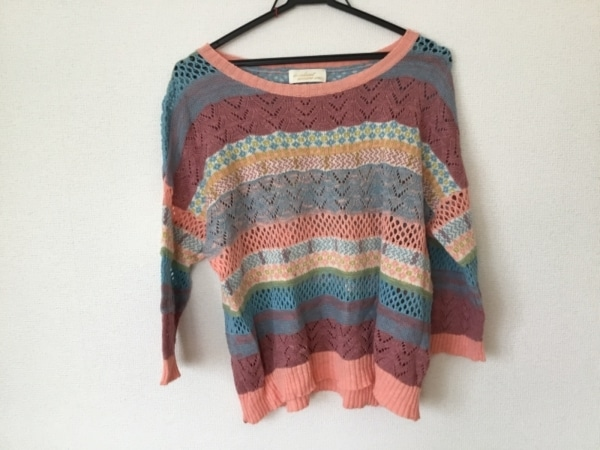 ダブルクローゼット 七分袖セーター
