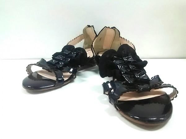 リズリサ サンダル L ユニセックス 黒