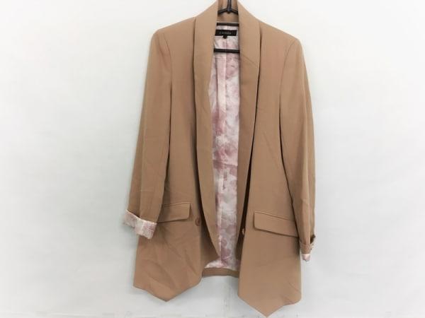 rienda(リエンダ) ジャケット サイズS レディース美品  ベージュ ロング丈