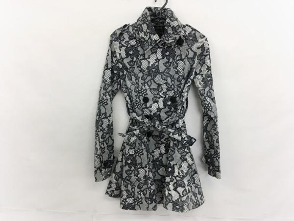 rienda(リエンダ) コート サイズS レディース美品  黒×白 春・秋物