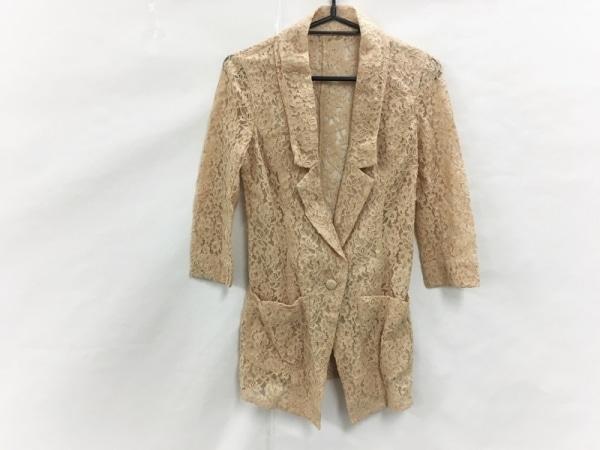 rienda(リエンダ) ジャケット サイズS レディース美品  ベージュ レース