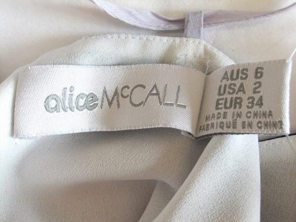 アリス マッコール オールインワン サイズ34(EUR) S レディース パープル×ネイビー