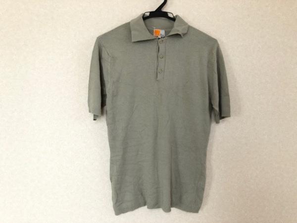 ゼニア 半袖ポロシャツ サイズL メンズ EZ