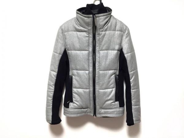 JOHNNY WOLF(ジョニーウルフ) ダウンジャケット サイズ2 M メンズ美品  グレー×黒