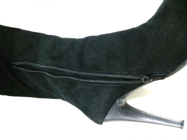 モードクラッセ ロングブーツ 22.5 黒