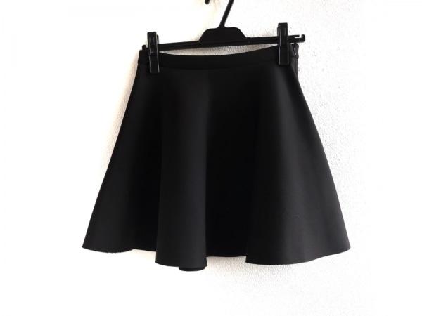LE MONT ST MICHEL(ルモンサンミッシェル) スカート サイズ38 M レディース美品  黒