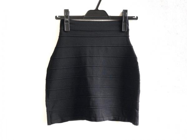 BALMAIN(バルマン) ミニスカート サイズ36 S レディース美品  6724 135M 黒