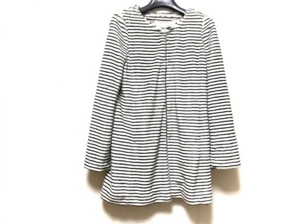 ジョリーデイズ コート サイズ2 M 白×黒