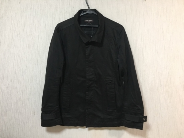 ハイダウェイニコル コート サイズ46 XL 黒