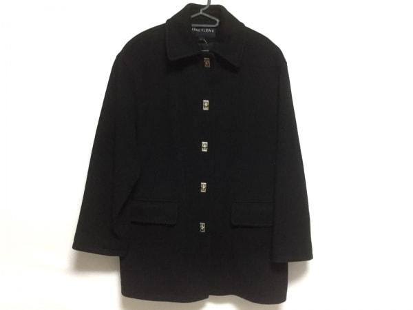 アンクライン コート サイズ4 XL美品  黒