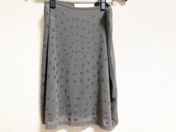 クリストファーケイン ミニスカート サイズ6 M レディース美品  グレー