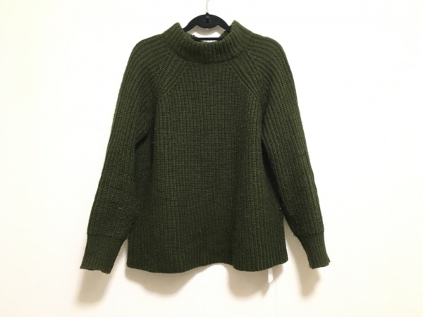 SENSE OF PLACE(センスオブプレイス) 長袖セーター サイズFree F レディース カーキ
