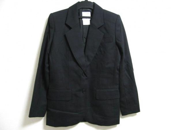 イネスドゥラフレサンジュ ジャケット サイズ36 S レディース 黒 肩パッド