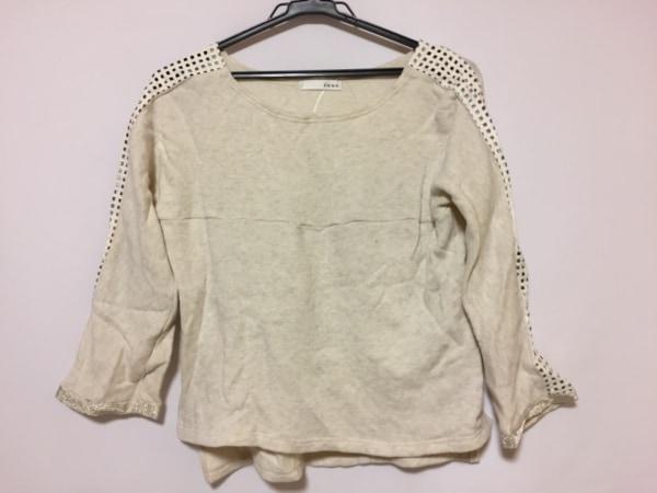 rous(ラス) 七分袖セーター レディース