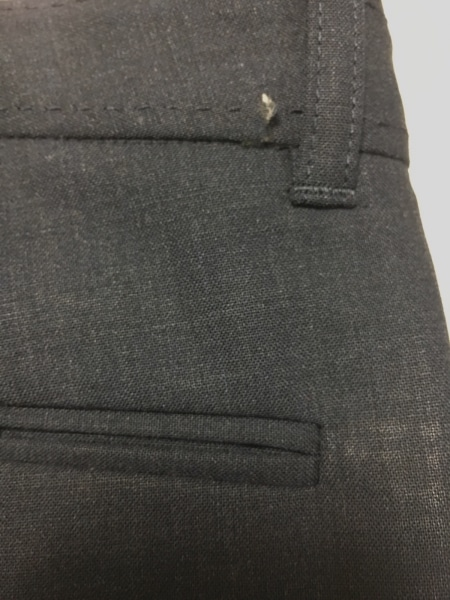 セオリー ハーフパンツ サイズ0 XS レディース美品  ダークグレー 5