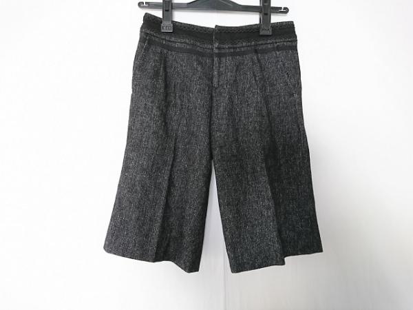 アナカ ハーフパンツ サイズ36 S 黒×白