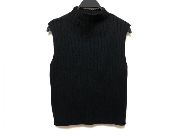 NARAMAGLIE(ナラマリエ) ノースリーブセーター サイズ3 L レディース 黒 ハイネック