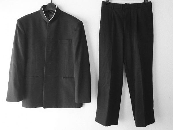 ヒロミチナカノ メンズスーツ サイズ175A 76 メンズ 黒 school/4点セット