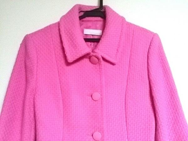 ラルトラモーダ コート サイズ40 M ピンク