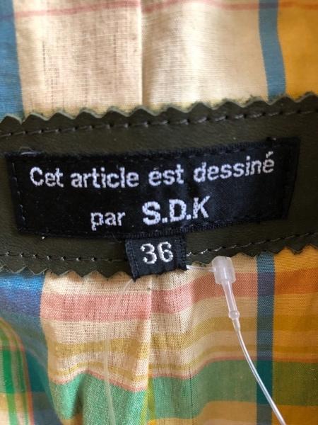 エスディーケー ジャケット サイズ36 S