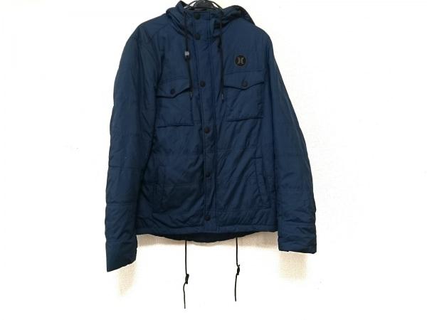 ハーレー ダウンジャケット サイズS ブルー