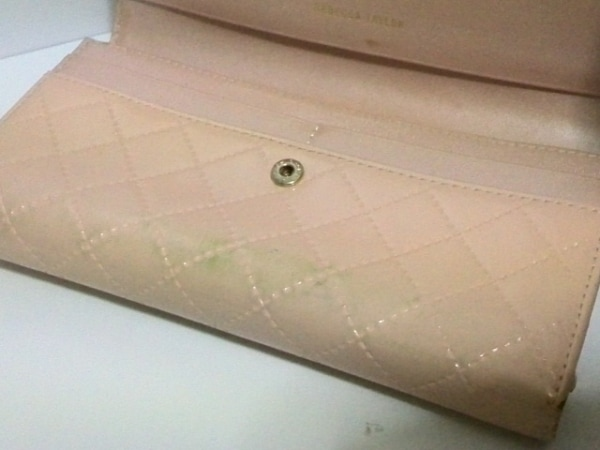 レベッカテイラー 長財布 ピンク がま口/ラインストーン 7