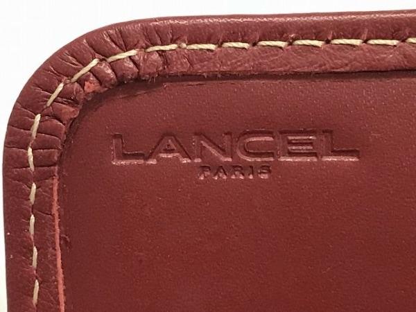 LANCEL(ランセル) 長財布 レッド レザー