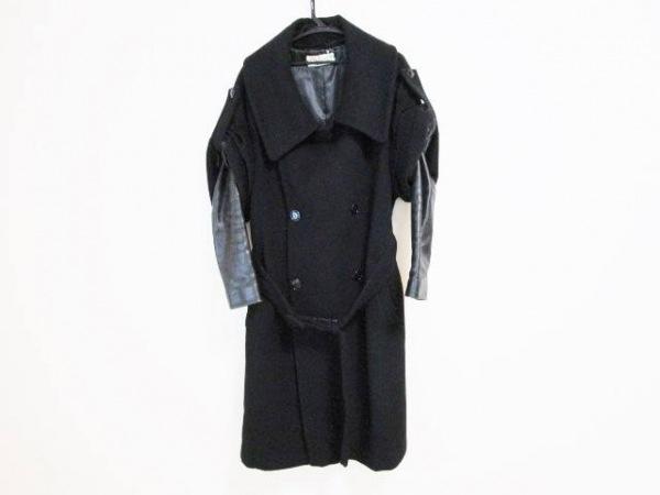 FULL NELSON(フルネルソン) コート サイズM レディース 黒 冬物/変形デザイン
