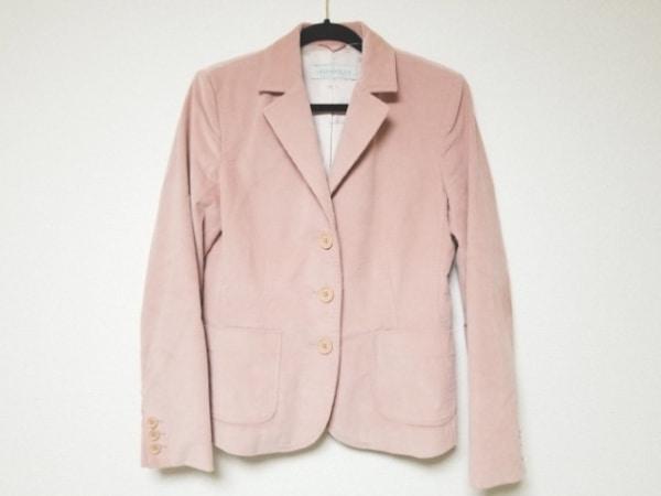 イブルース ジャケット サイズ44 L ピンク