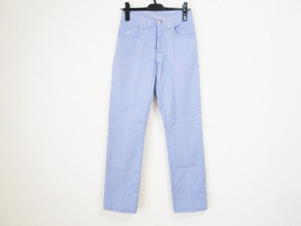 BELVEST(ベルヴェスト) パンツ サイズ28 メンズ パープル 刺繍