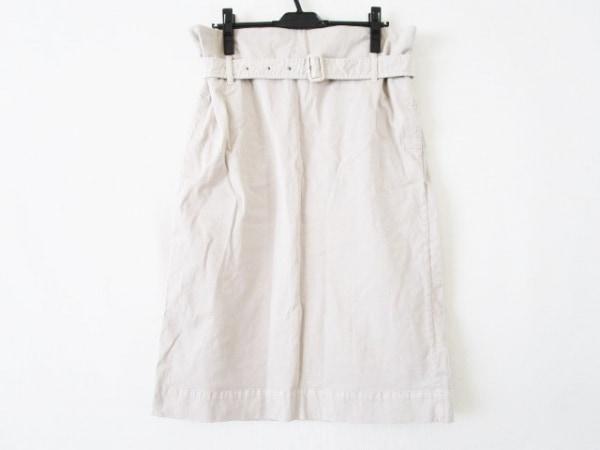 whim gazette(ウィムガゼット) ロングスカート サイズF レディース ベージュ