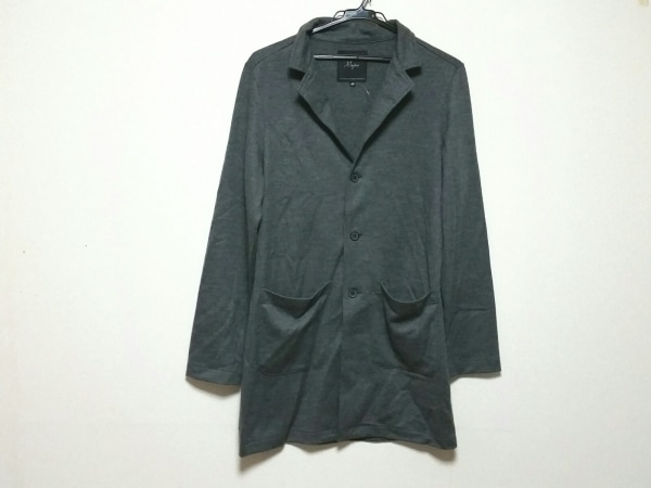 マージン コート サイズ46 XL メンズ美品