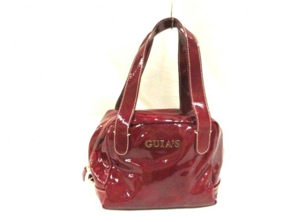 GUIA'S(グイアス) ハンドバッグ ボルドー