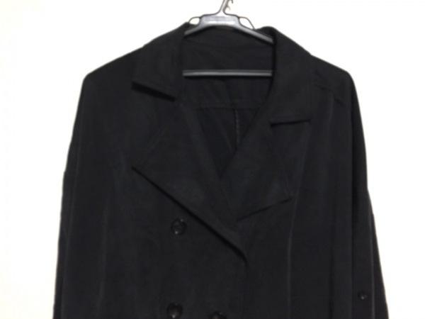 【中古】 マウジー moussy ジャケット レディース 黒