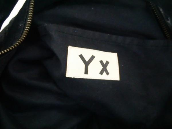 YX(ワイクロス) ハンドバッグ 黒 レザー