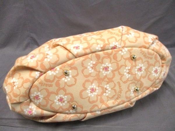 マリクレール トートバッグ 花柄