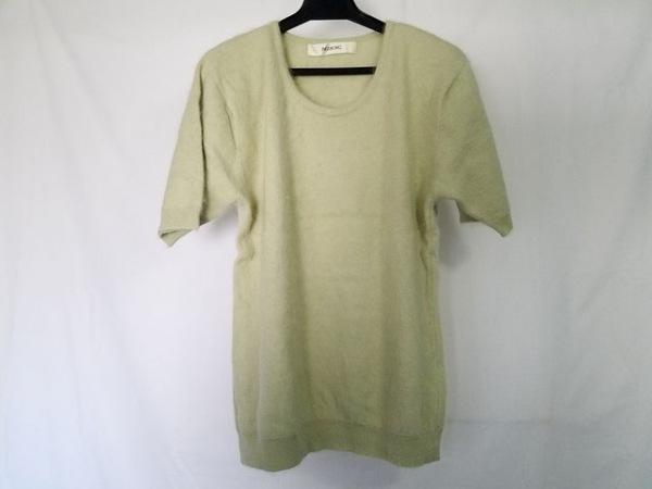 インゲボルグ 半袖セーター レディース