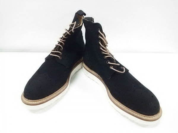 バーウィック ショートブーツ 8 メンズ